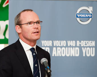 Minister Simon Coveney speaking at the Official Opening. Pic. Robert Bateman