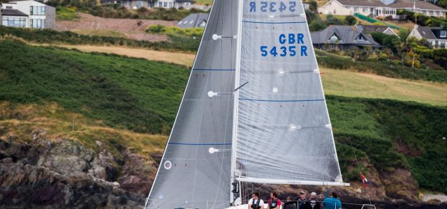 Ronan & John Downing's Half Tonner Miss Whiplash (Royal Cork YC). Photograph: David Branigan/Oceansport